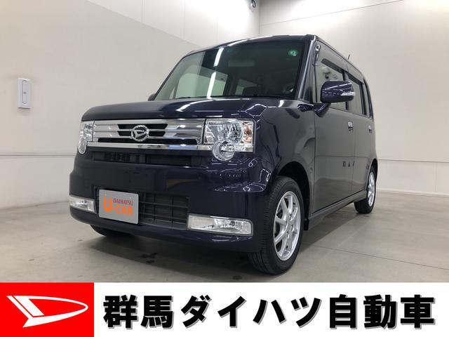 ダイハツ カスタム G キーフリー 純正ナビ装備 エコアイドル車