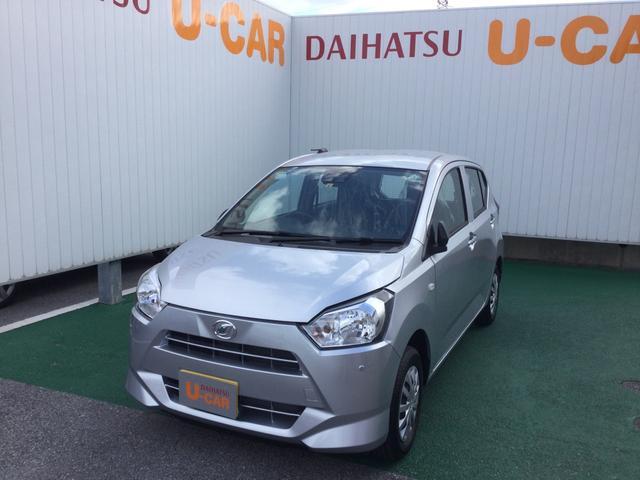 沖縄の中古車 ダイハツ ミライース 車両価格 90万円 リ済別 2020(令和2)年 7km ブライトシルバーM