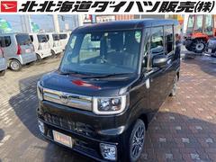 ウェイクGターボSAIII 4WD スマートアシスト 両側パワースライドドア キーフリー プッシュスタート LEDヘッドライト LEDフォグランプ オートライト オーディオレス オートエアコン