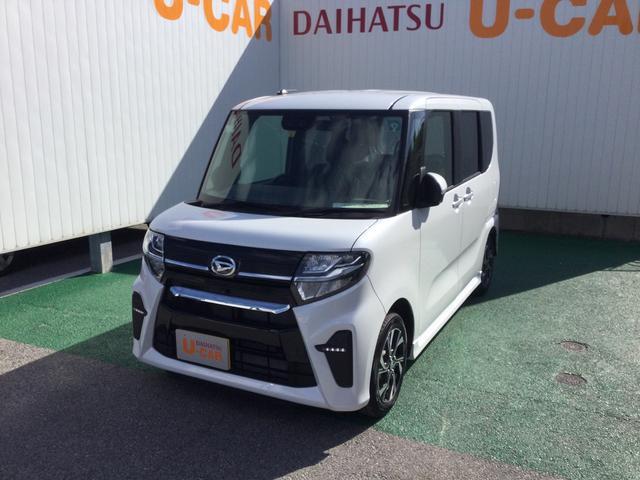 沖縄県の中古車ならタント カスタムX パノラマモニター、6.2インチディスプレイオーディオ付!