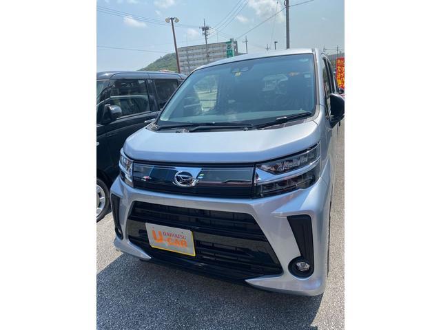 沖縄の中古車 ダイハツ ムーヴ 車両価格 128万円 リ済別 2020(令和2)年 4km ブライトシルバーM