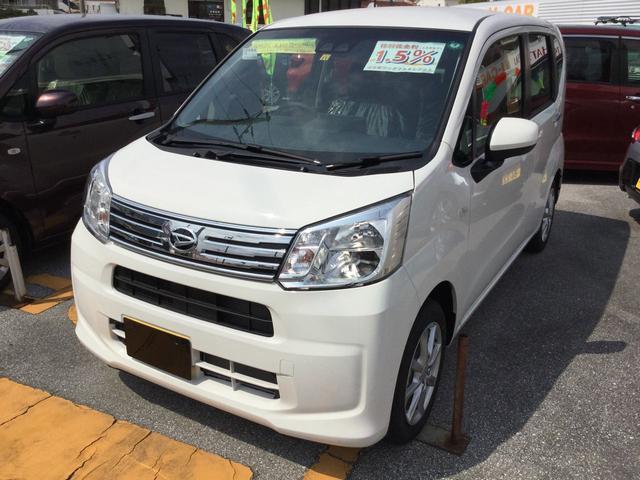沖縄の中古車 ダイハツ ムーヴ 車両価格 122万円 リ済別 2020(令和2)年 3km ホワイト