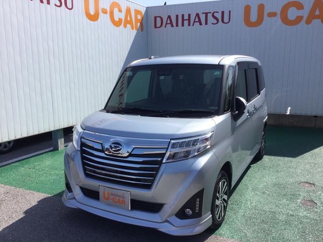 沖縄の中古車 ダイハツ トール 車両価格 186万円 リ済別 2020(令和2)年 0.4万km ブライトシルバーM