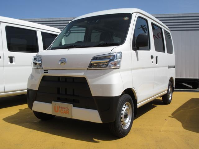 ダイハツ ハイゼットカーゴ DX SAIII 4WD  LEDヘッドライト MT車