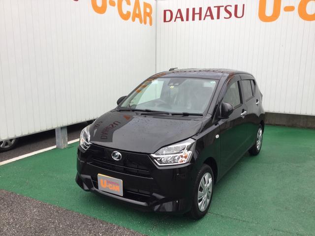 沖縄の中古車 ダイハツ ミライース 車両価格 108万円 リ済別 2020(令和2)年 733km ブラックマイカM