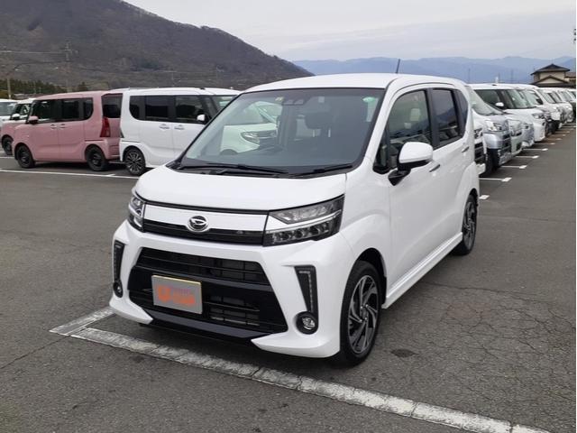 ダイハツ ムーヴ カスタム RS ハイパーSAIII 純正ナビ車輌状態証明書付