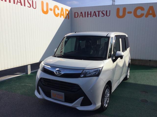 沖縄の中古車 ダイハツ トール 車両価格 156万円 リ済別 2020(令和2)年 0.3万km パールホワイト3