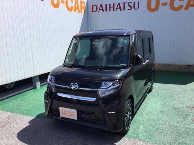 沖縄の中古車 ダイハツ タント 車両価格 173万円 リ済別 2020(令和2)年 0.3万km ブラックマイカM