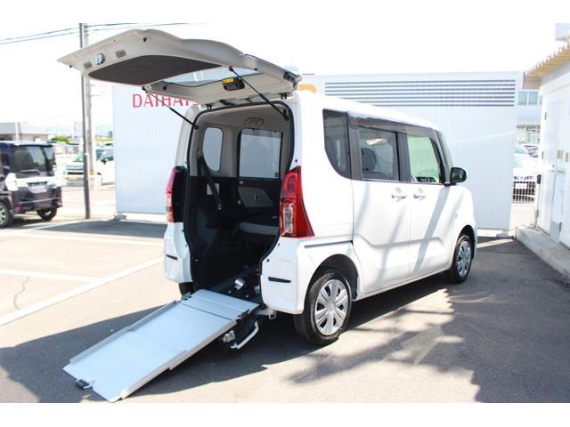 ダイハツ スローパーL ターンシート付 福祉車両 コーナーセンサー オートライト LEDヘッドランプ 両側スライドドア キーレス