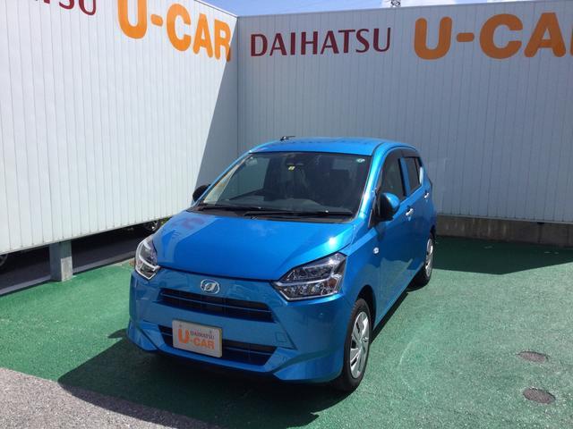 沖縄の中古車 ダイハツ ミライース 車両価格 110万円 リ済別 2020(令和2)年 252km スプラッシュブルーM