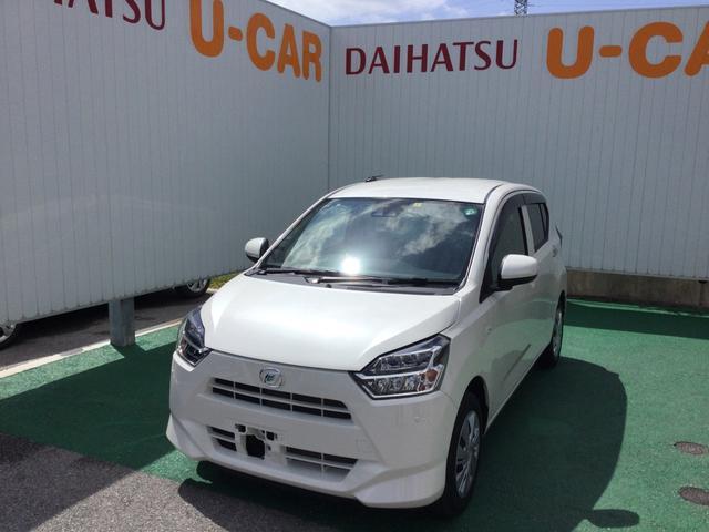 沖縄の中古車 ダイハツ ミライース 車両価格 88万円 リ済別 2018(平成30)年 0.4万km パールホワイト3