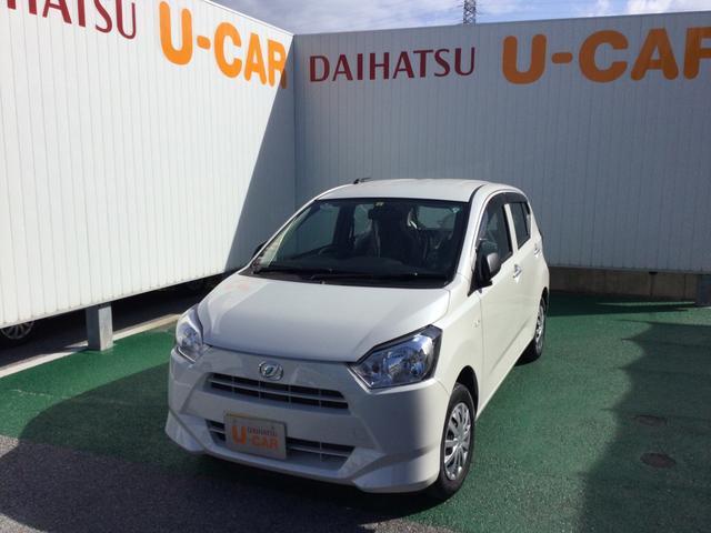沖縄の中古車 ダイハツ ミライース 車両価格 81万円 リ済別 2020(令和2)年 0.5万km パールホワイト3