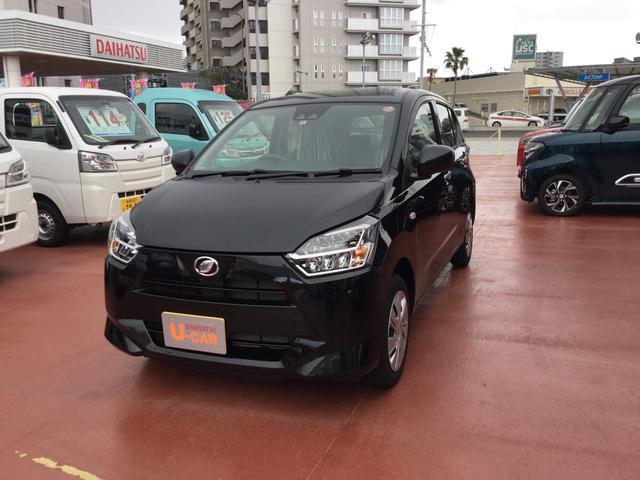 沖縄の中古車 ダイハツ ミライース 車両価格 100万円 リ済別 2021(令和3)年 6km ブラックマイカM