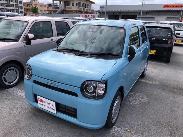 沖縄の中古車 ダイハツ ミラトコット 車両価格 114万円 リ済別 2021(令和3)年 5km サニーデイブルーM