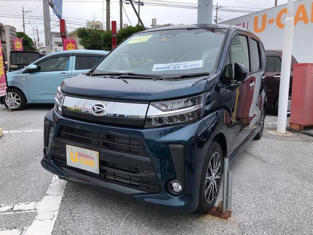 沖縄の中古車 ダイハツ ムーヴ 車両価格 151万円 リ済別 2021(令和3)年 3km レーザーブルークリスタルシャイン
