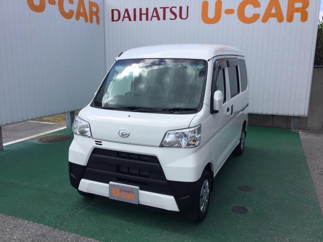沖縄の中古車 ダイハツ ハイゼットカーゴ 車両価格 119万円 リ済別 2020(令和2)年 0.6万km ホワイト
