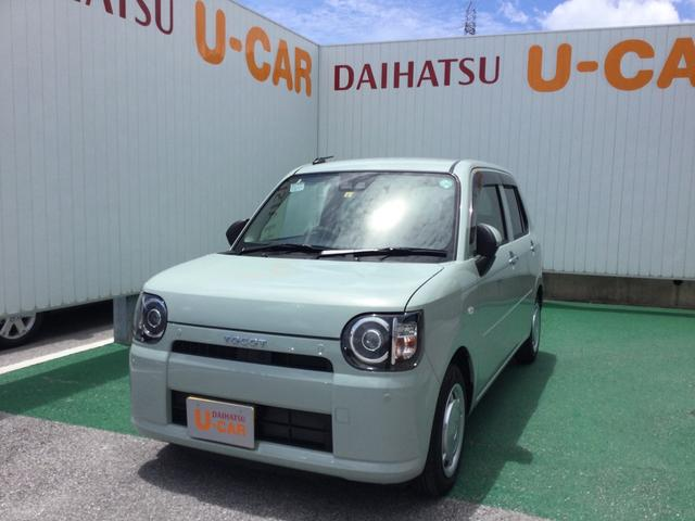 沖縄の中古車 ダイハツ ミラトコット 車両価格 112万円 リ済別 2020(令和2)年 0.3万km セラミックグリーンM