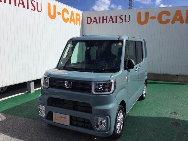沖縄県の中古車ならウェイク LリミテッドSAIII LEDヘッドランプ 両側パワースライドドア 14インチアルミホイール
