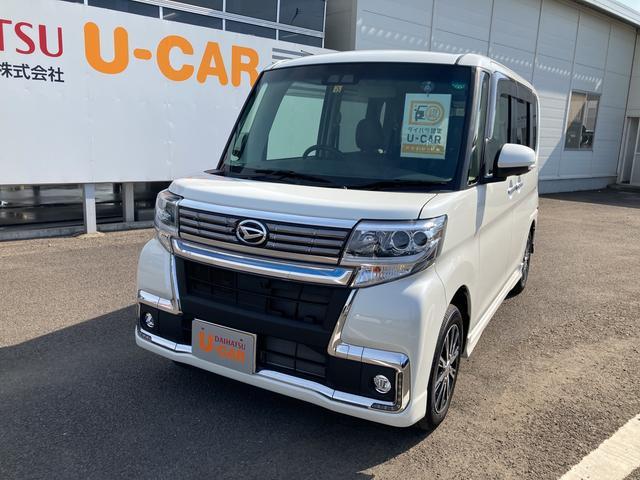 ダイハツ カスタムX トップエディションVS SAIII パノラマモニター対応 運転席シートヒーター 両側パワースライドドア