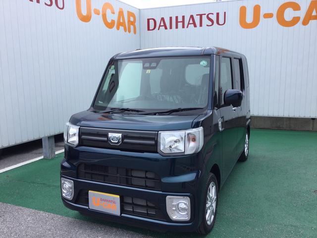 沖縄の中古車 ダイハツ ウェイク 車両価格 152万円 リ済別 2020(令和2)年 7km レーザーブルークリスタルシャイン