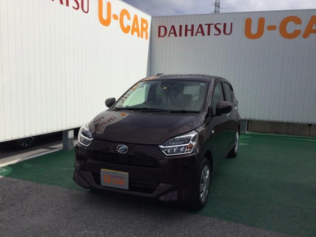 沖縄の中古車 ダイハツ ミライース 車両価格 99万円 リ済別 2020(令和2)年 6km プラムブラウンクリスタルマイカ