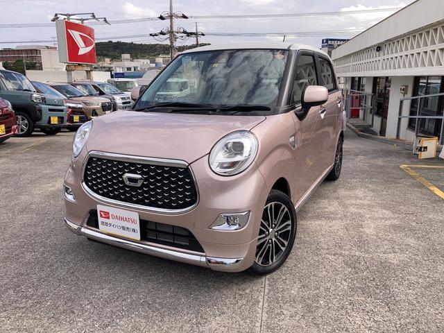 沖縄の中古車 ダイハツ キャスト 車両価格 143万円 リ済別 2021(令和3)年 5km ライトローズマイカM