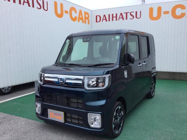 沖縄の中古車 ダイハツ ウェイク 車両価格 168万円 リ済別 2020(令和2)年 6km レーザーブルークリスタルシャイン