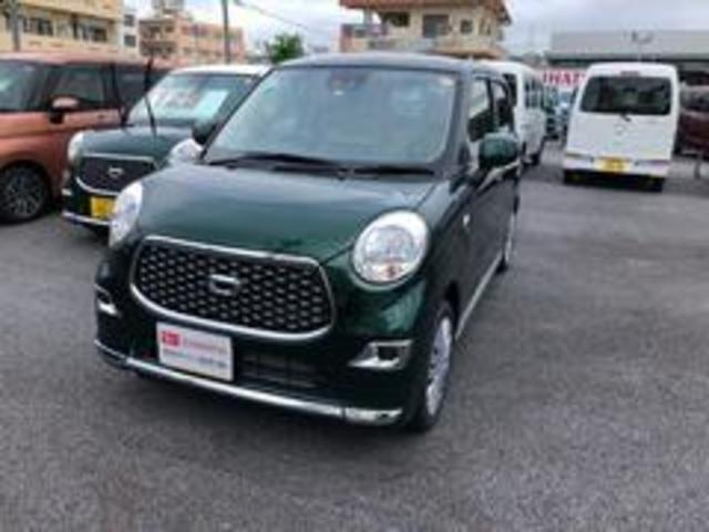 沖縄の中古車 ダイハツ キャスト 車両価格 125万円 リ済別 2021(令和3)年 3km ダークエメラルドマイカ