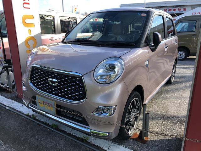 沖縄の中古車 ダイハツ キャスト 車両価格 135万円 リ済別 2021(令和3)年 3km ライトローズマイカM