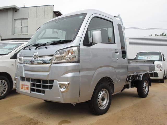 ダイハツ ハイゼットトラック ジャンボSAIIIt 4WD 5MT エアコン パワステ パワーウィンドウスマアシIIIt