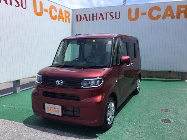 沖縄の中古車 ダイハツ タント 車両価格 148万円 リ済別 2021(令和3)年 31km ファイアークォーツレッドM
