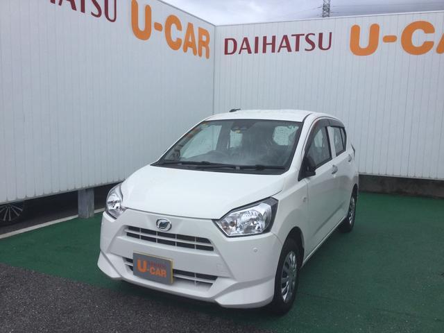 沖縄の中古車 ダイハツ ミライース 車両価格 85万円 リ済別 2020(令和2)年 0.3万km ホワイト