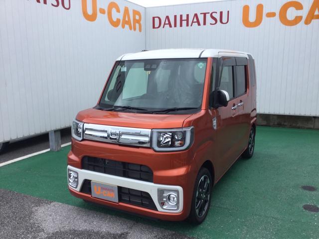 沖縄の中古車 ダイハツ ウェイク 車両価格 177万円 リ済別 2020(令和2)年 301km パールホワイト X トニコオレンジ