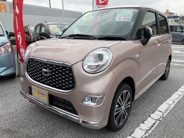 沖縄の中古車 ダイハツ キャスト 車両価格 135万円 リ済別 2021(令和3)年 4km ライトローズマイカM