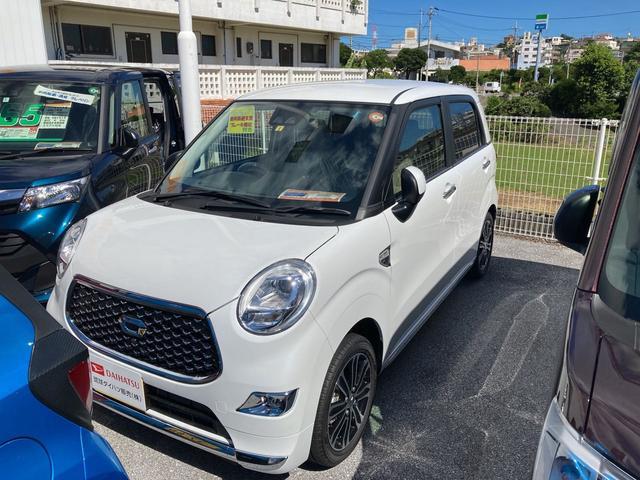 沖縄の中古車 ダイハツ キャスト 車両価格 137万円 リ済別 2021(令和3)年 3km シャイニングホワイトパール