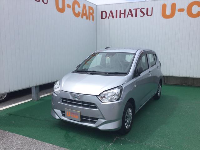 沖縄の中古車 ダイハツ ミライース 車両価格 85万円 リ済別 2020(令和2)年 0.2万km ブライトシルバーM