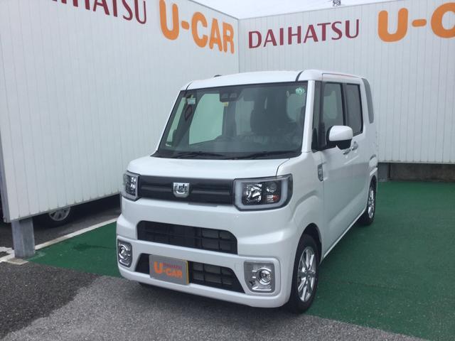沖縄の中古車 ダイハツ ウェイク 車両価格 158万円 リ済別 2020(令和2)年 7km シャイニングホワイトパール