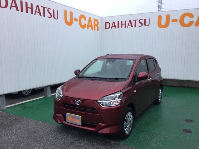 沖縄の中古車 ダイハツ ミライース 車両価格 97万円 リ済別 2020(令和2)年 6km ファイアークォーツレッドM