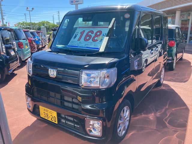 沖縄の中古車 ダイハツ ウェイク 車両価格 159万円 リ済別 2021(令和3)年 5km ブラックマイカM