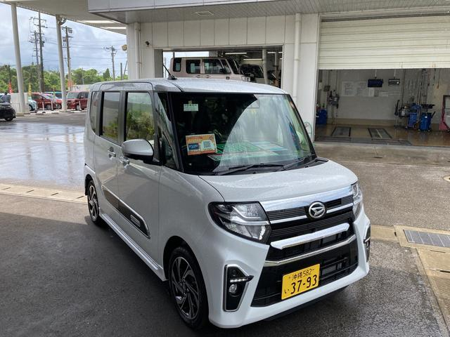 沖縄の中古車 ダイハツ タント 車両価格 190万円 リ済別 2021(令和3)年 6km シャイニングホワイトパール
