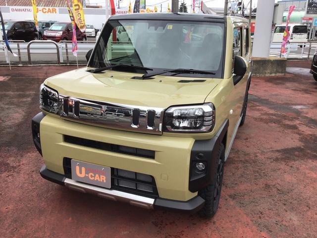 ダイハツ G 2WDサンドベージュ LEDヘッドライト/LEDフォグ/バックカメラ/電動パーキングブレーキ