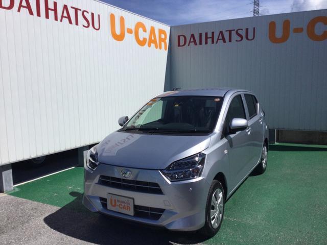 沖縄の中古車 ダイハツ ミライース 車両価格 105万円 リ済別 2021(令和3)年 5km ブライトシルバーM