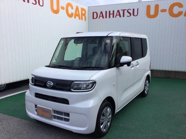 沖縄の中古車 ダイハツ タント 車両価格 148万円 リ済別 2021(令和3)年 7km シャイニングホワイトパール