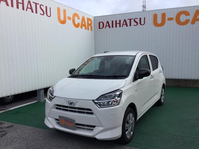 沖縄の中古車 ダイハツ ミライース 車両価格 105万円 リ済別 2020(令和2)年 0.2万km ホワイト