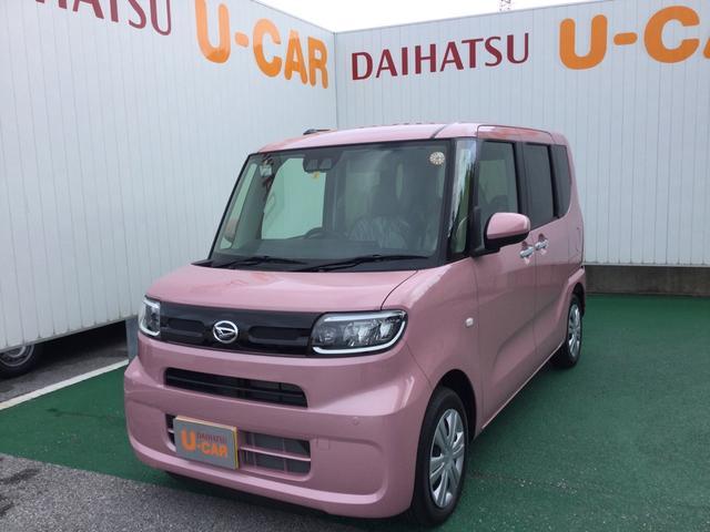 沖縄の中古車 ダイハツ タント 車両価格 146万円 リ済別 2021(令和3)年 5km ブルーミングピンクM