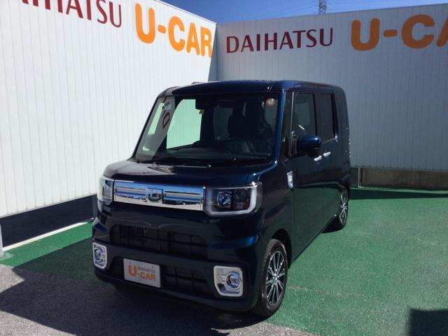 沖縄県の中古車ならウェイク GターボSAIII LEDヘッドランプ 14インチアルミホイール 両側パワースライドドア