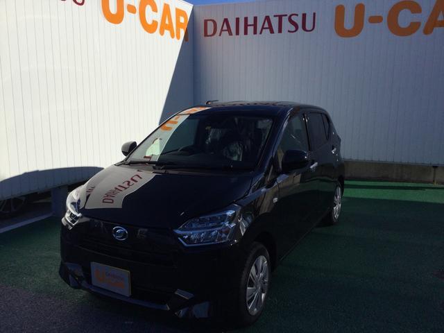 沖縄の中古車 ダイハツ ミライース 車両価格 101万円 リ済別 2021(令和3)年 6km ブラックマイカM