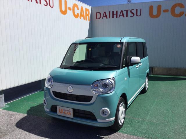沖縄の中古車 ダイハツ ムーヴキャンバス 車両価格 153万円 リ済別 2021(令和3)年 6km ファインミントM