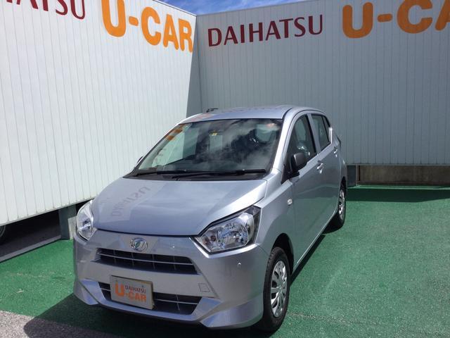 沖縄の中古車 ダイハツ ミライース 車両価格 87万円 リ済別 2021(令和3)年 6km ブライトシルバーM
