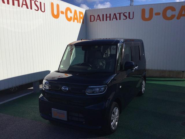 沖縄の中古車 ダイハツ タント 車両価格 150万円 リ済別 2021(令和3)年 24km レーザーブルークリスタルシャイン